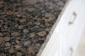 Kuchnia granitu Baltic Brown