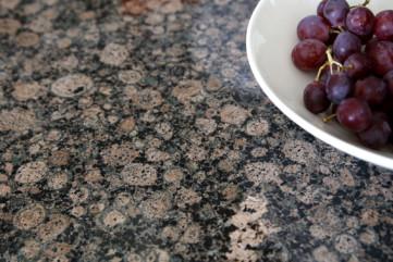 Kuchnia z granitu Baltic Brown