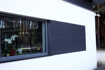 Elewacja Laminam Collection Nero