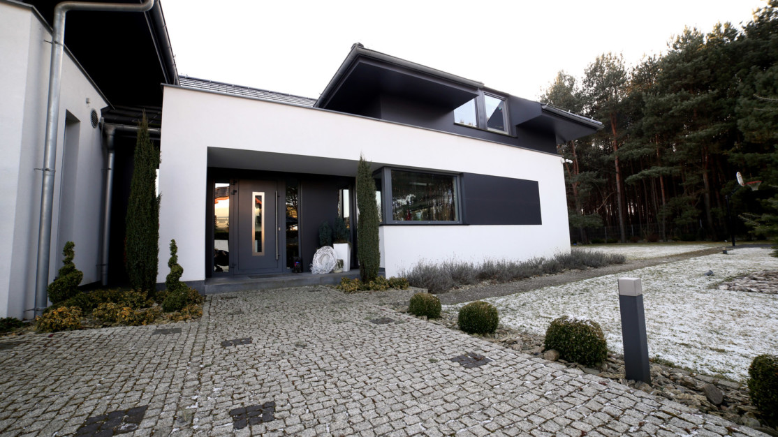 Elewacja Laminam Collection Nero - front