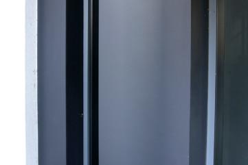 Elewacja Laminam Collection Nero - wejście