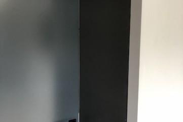 Drzwi wykonane z spieku kwarcowego Collection Nero