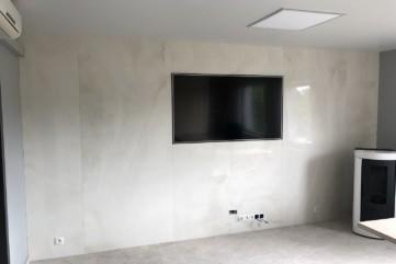 Ściana TV spiek Onice Bianco