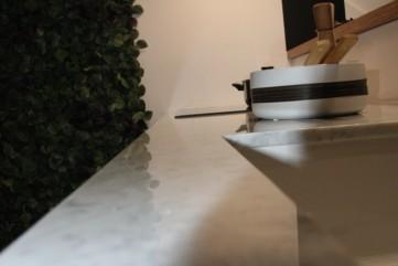 Blat z marmuru Bianco Carrara Gioia