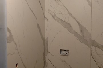 Łazienka Bianco Statuario Venato mat