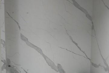 Łazienka ze spieku Bianco Statuario Venato mat