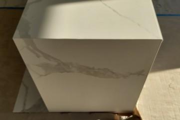 Blaty i okładzina ścienna z Bianco Statuario Venato