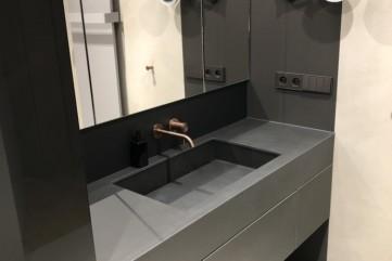 Łazienka ze spieku Calce Nero