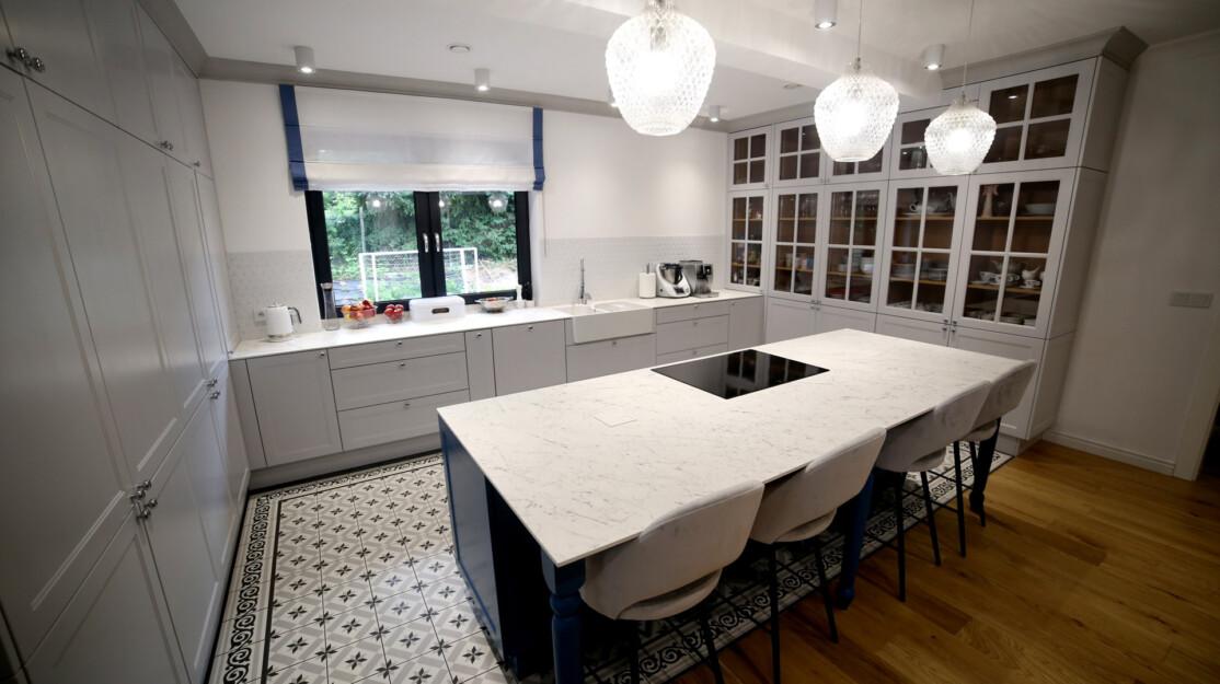 Kuchnia spiek Frankoslab Carrara