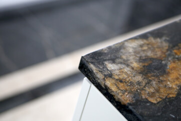 Meble, blaty granit cosmic gold