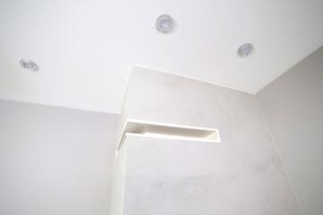 Ściana kominkowa Laminam Oxide Perla