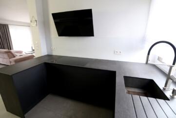 Kuchnia blaty Pietra di Savoia Antracite