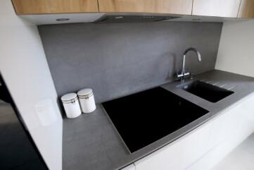 Kuchnia blaty spiek Pietra di Savoia Grigia