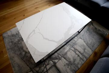 Stół spiek Statuario Venato