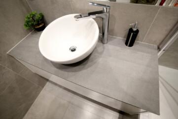 Blat łazienka Pietra di Savoia Grigia
